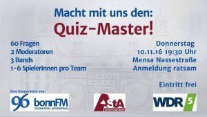 WDR 5 Quiz-Master kommt an die Universität Bonn