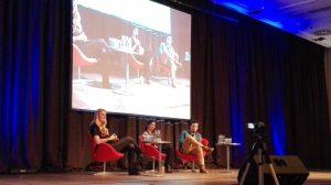 Panel Lucy Hale Ian Harding Bild: Désirée Wilde / bonnFM