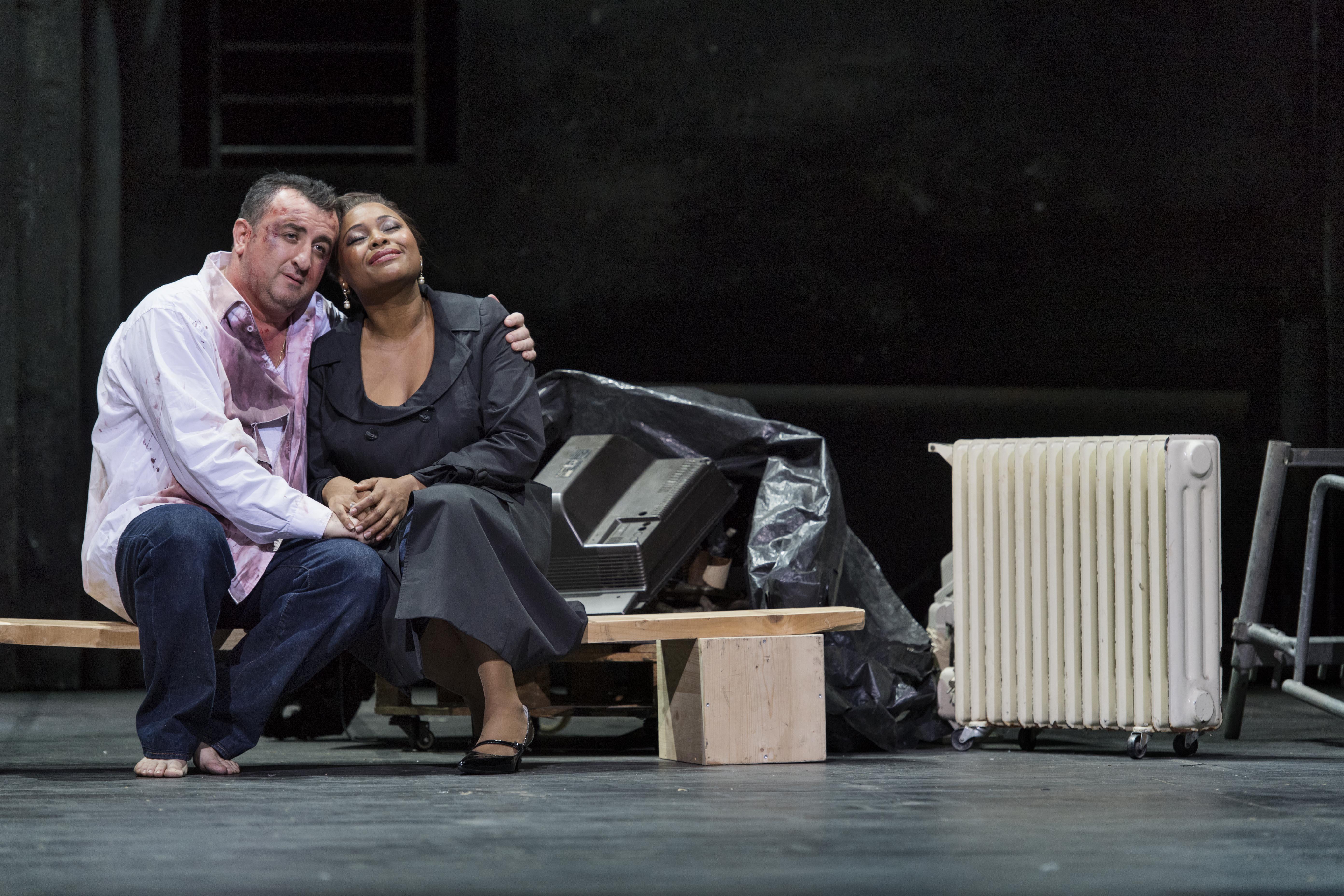 Bild: Thilo Beu | George Oniani & Yannick-Muriel Noah als CARAVADOSSI & TOSCA