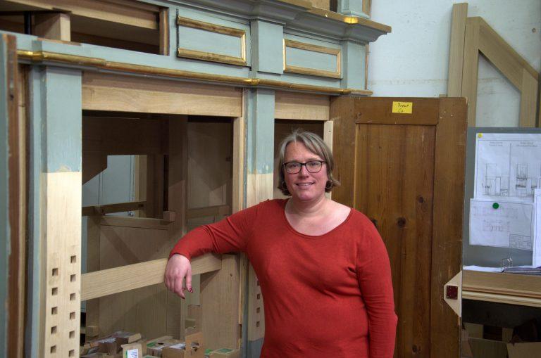 Orgelbauerin Gesa Graumann  Bild: Anya Lamesch / bonnFM
