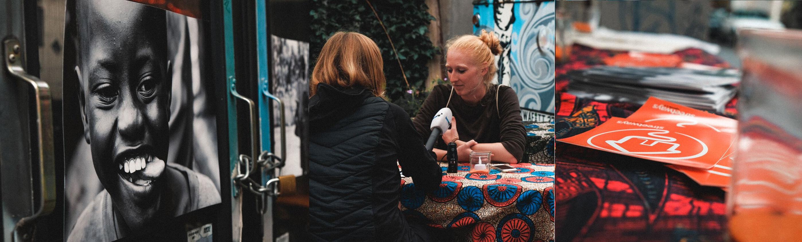 bonnFM im Gespräch mit Vorstandsmitglied Charlotte Weiss. Bild: Lukas Piel