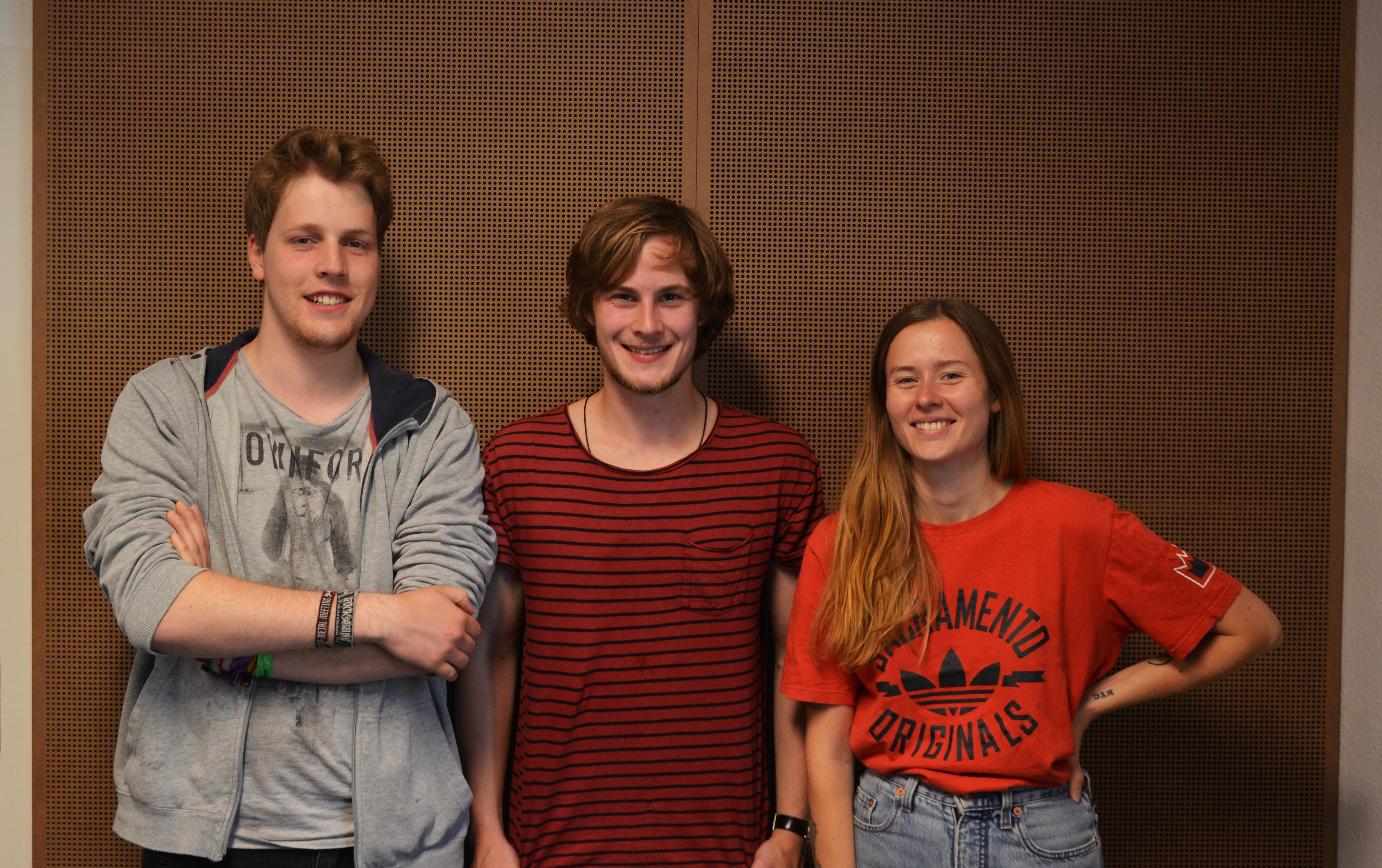 Interview und Akustiksession mit Kölner Band Like Snow