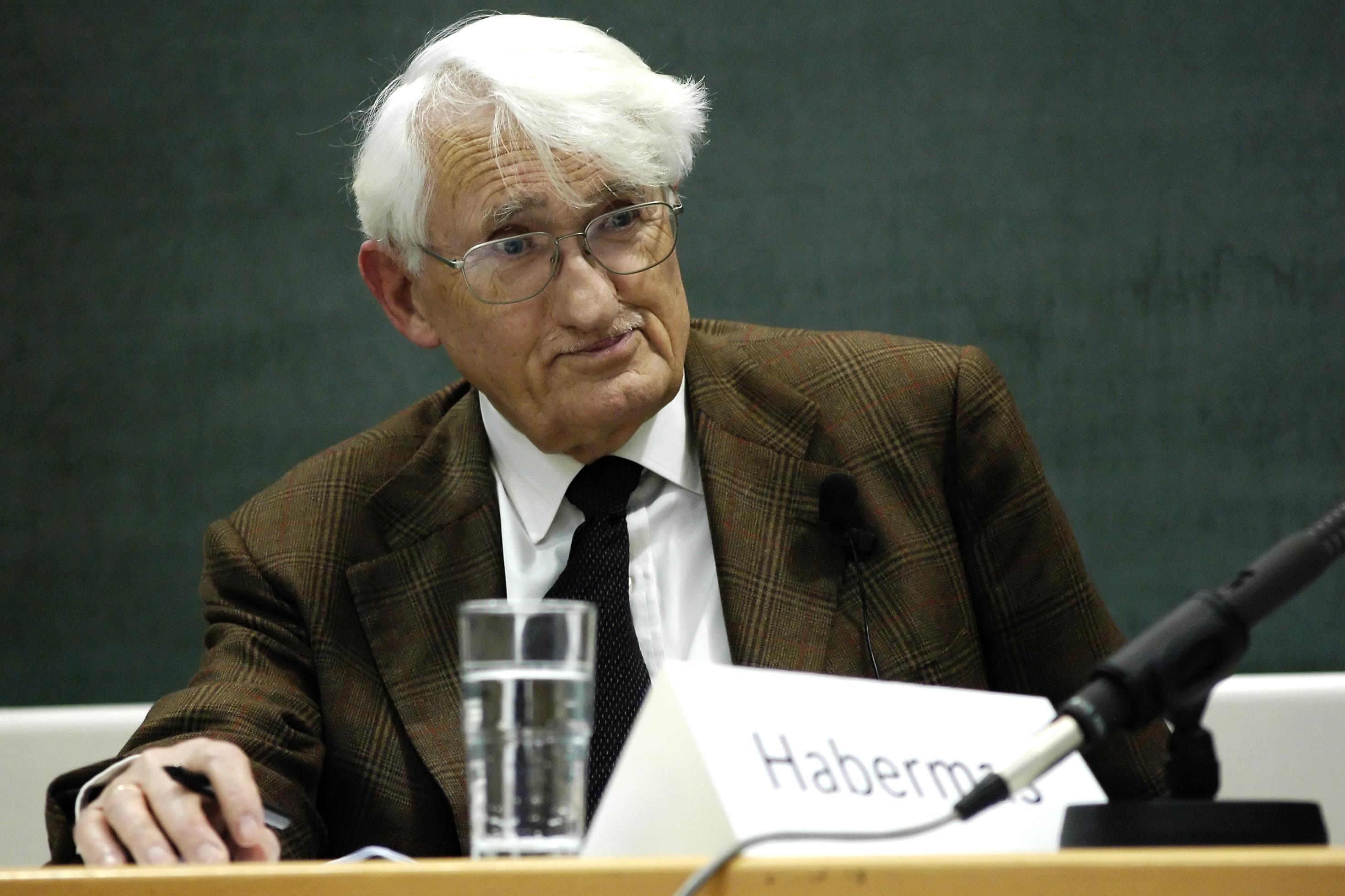Berühmt und berüchtigt: Sonntags in der Mensa – Jürgen Habermas