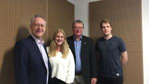Universität Bonn auf dem Weg zur Exzellenzuni – Rektor Prof. Dr. Dr. h.c. Hoch und Prorektor Prof. Zimmer im Interview