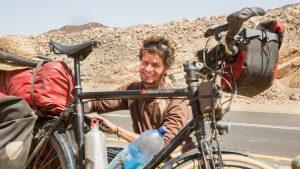 Über den deutschen Studenten, der ganz Afrika mit dem Fahrrad durchfuhr