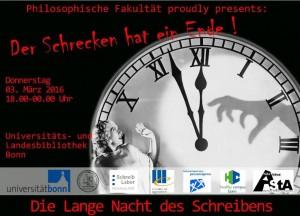 """""""Lange Nacht des Schreibens"""" in der Universitäts- und Landesbibliothek"""