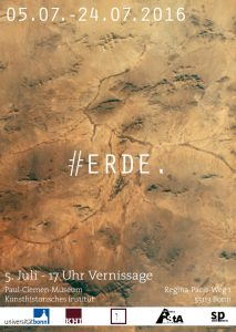 """Interview: Ausstellung """"#ERDE"""" der Ausstellungsgruppe"""