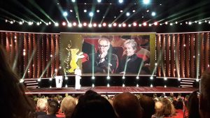 Preisverleihung Goldener Ehrenbär Bild: Franziska Venjakob / bonnFM