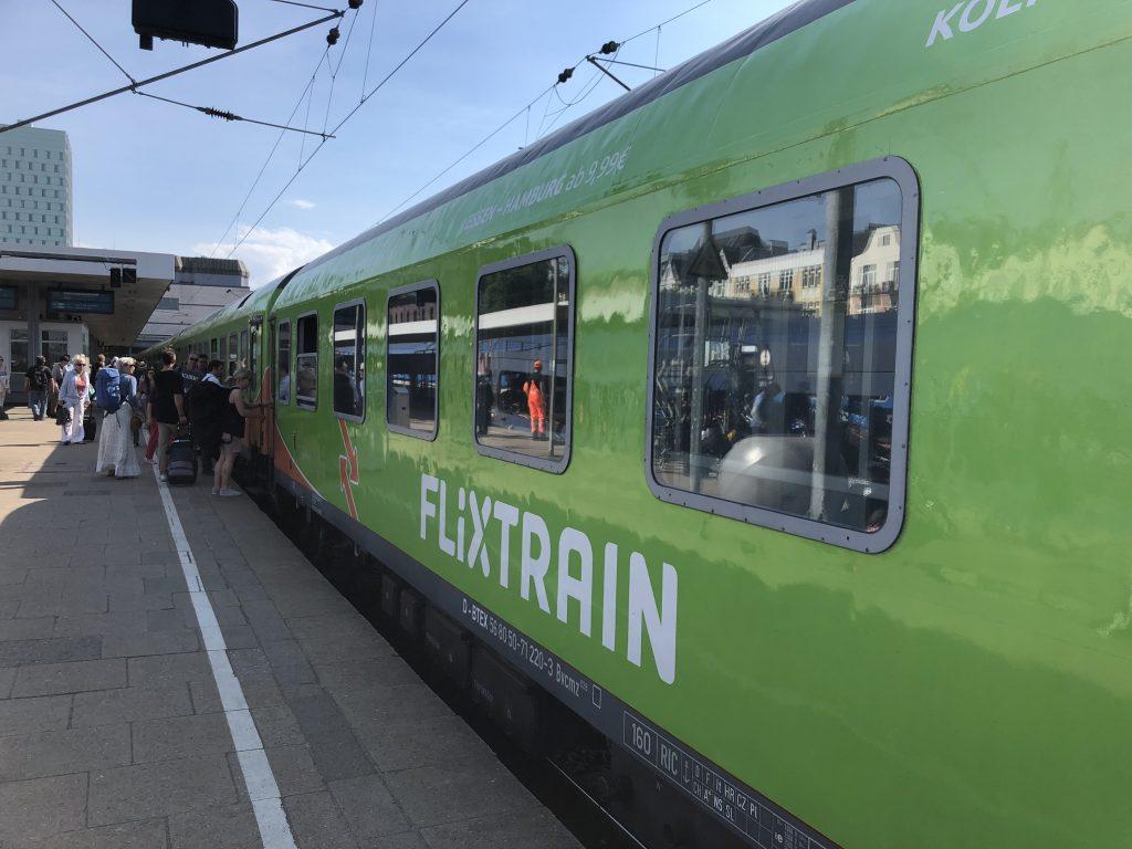 Flixtrain: Mit 20 Euro nach Hamburg und zurück