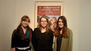 Julia Qvarnström zu Gast beim Kurzfilmabend der 19. skandinavischen Filmtage Bonn