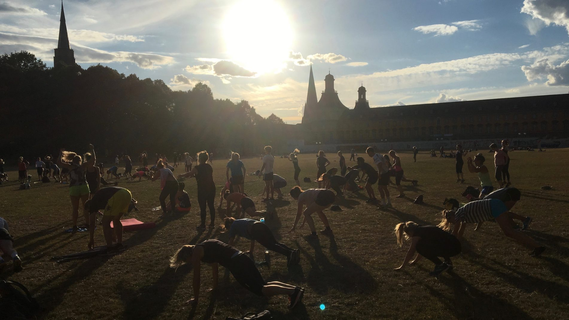 Sport im Park Bootcamp: Muskelkater-Garantie inklusive