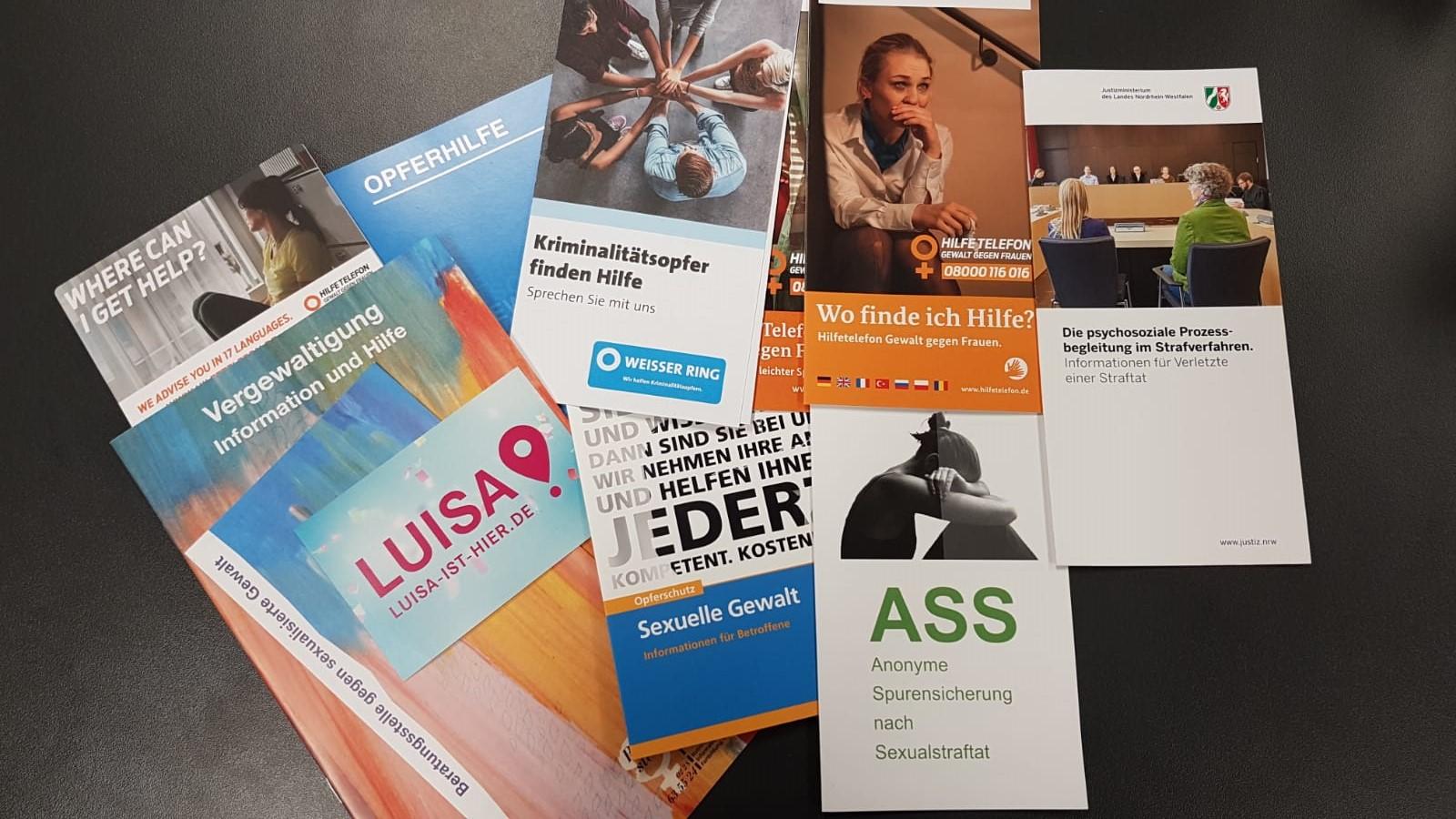 Kriminalhauptkommissarin Irmgard Küsters vom Opferschutz Bonn über Anlaufstellen für Opfer von Sexualstraftaten