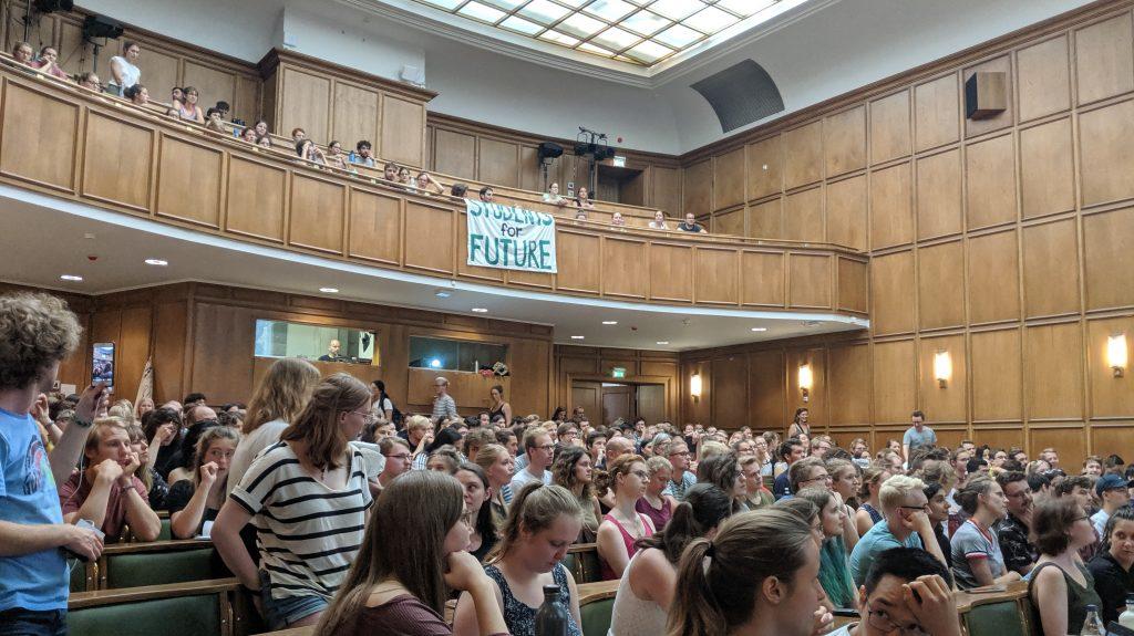Studentische Vollversammlung von Fridays for Future – und nun?