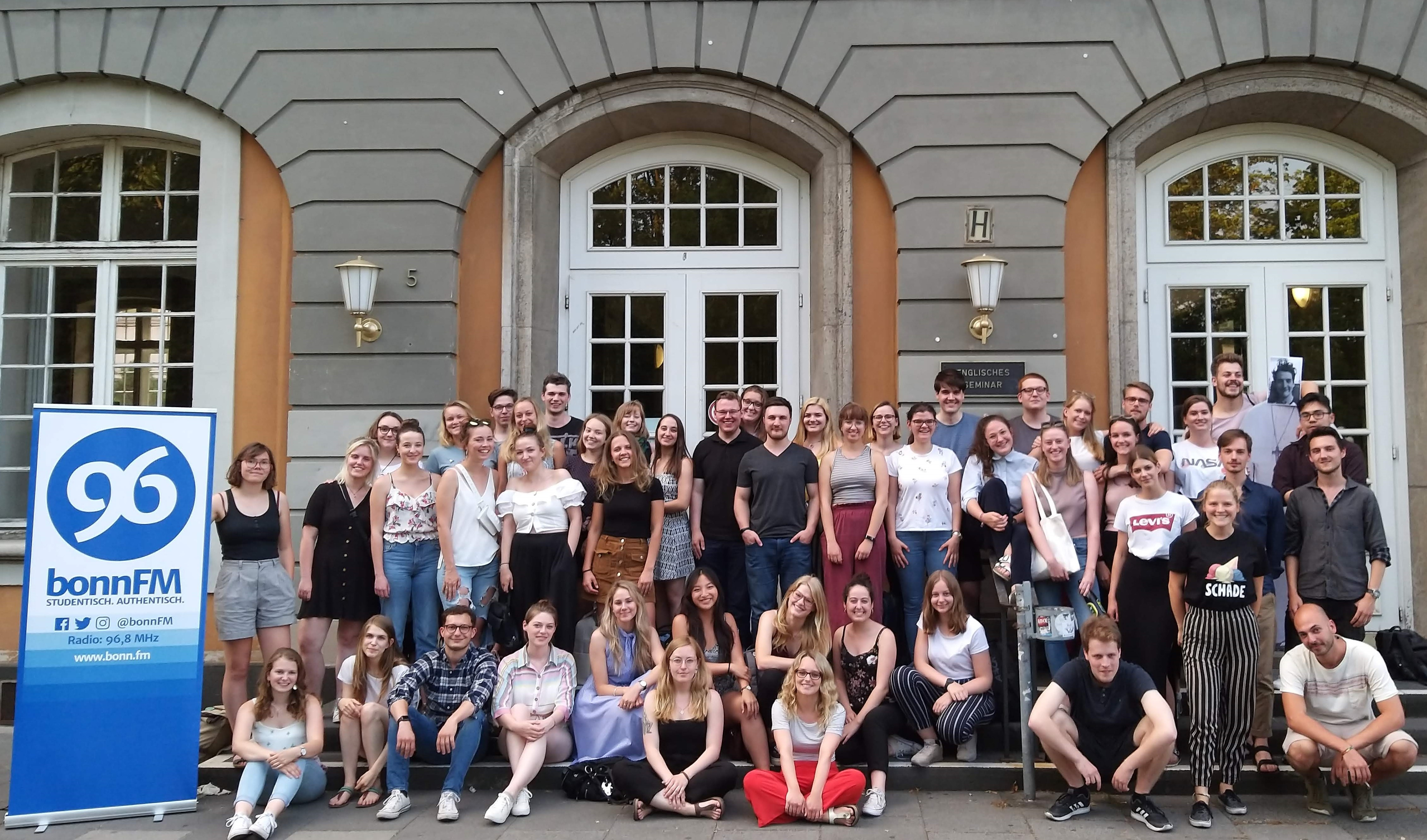 Das bonnFM-Team