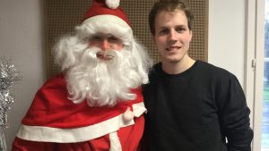 Ein besonderer Studijob – Weihnachtsmann
