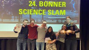 Treffen sich ein Statistiker, eine Linguistin und ein Psychologe… – Science Slam im Pantheon