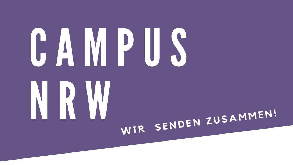 Campus NRW – Wir senden zusammen