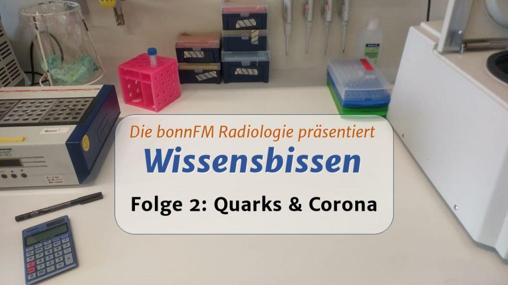 Wissensbissen Folge 2: Quarks & Corona